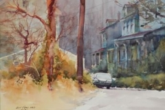 GERMANTOWN #5 - 22 X 29 - WATERCOLOR - $400