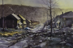 CHARLESTOWN - 22 X 29 - WATERCOLOR - SOLD